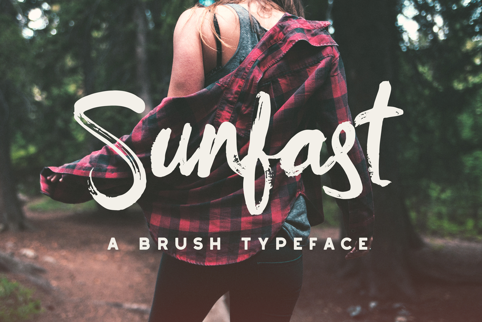 Sunfast Brush Font - Available on Creative Market