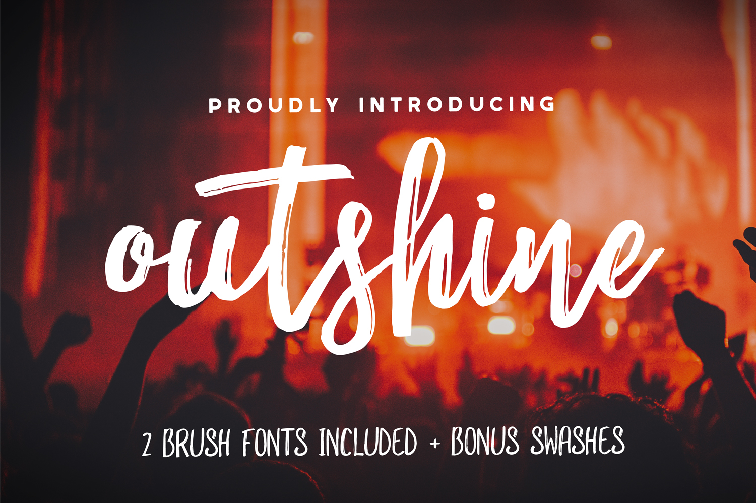 Outshine Font Duo - Available on Creative Market