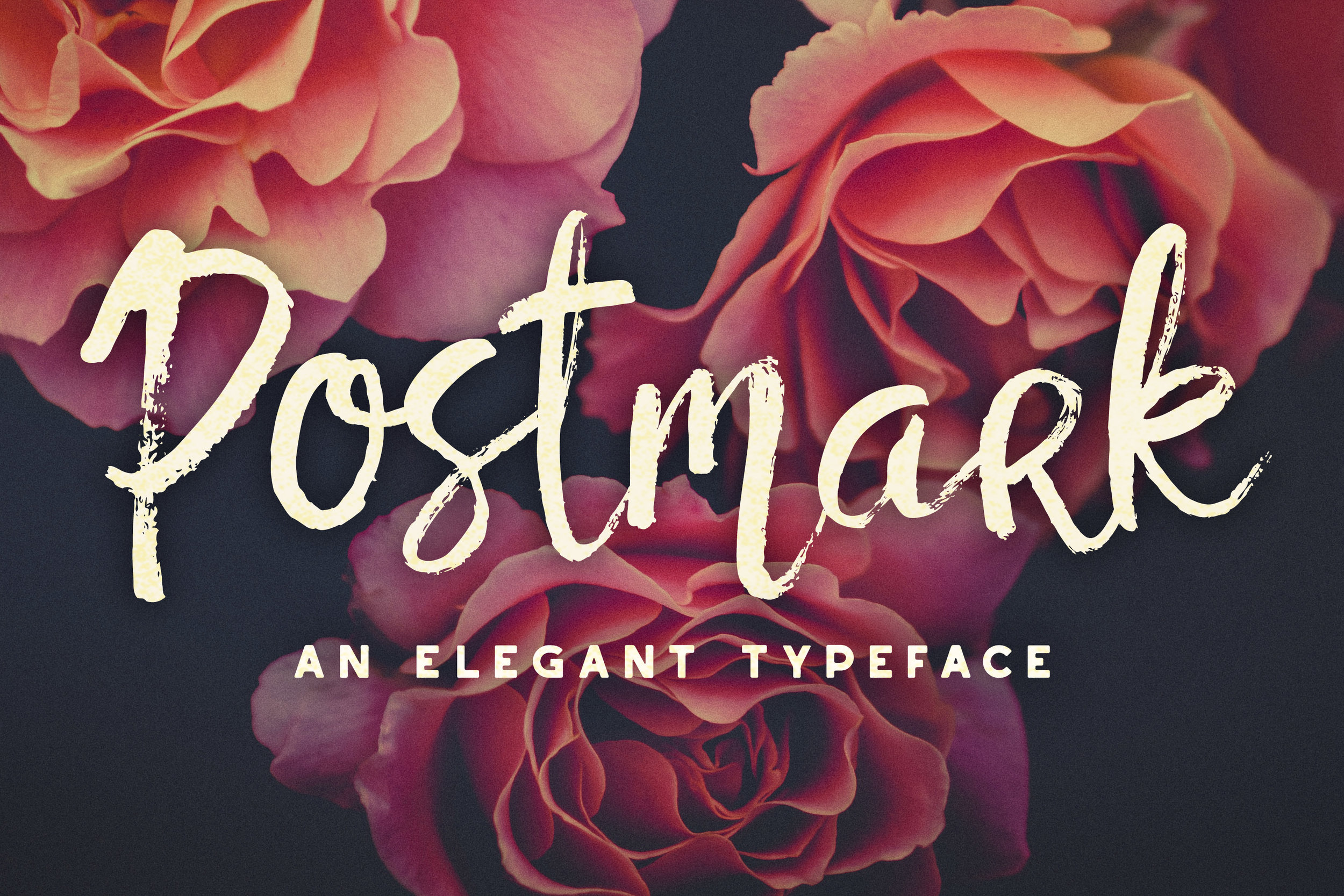 Postmark Font - Available on Creative Market