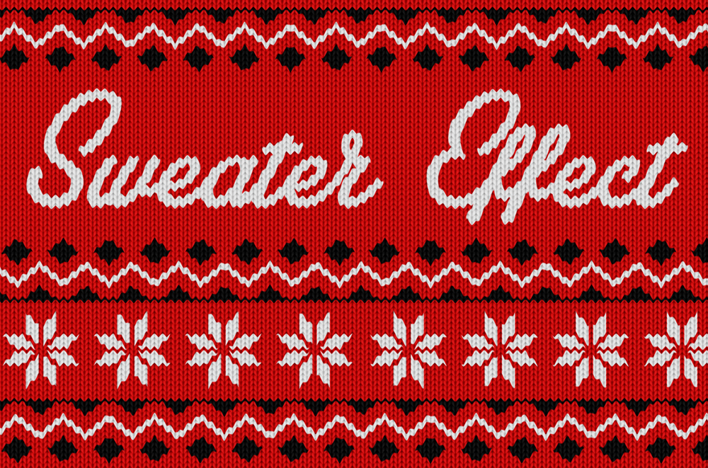 Christmas Sweater Effect - Available on Creative Market