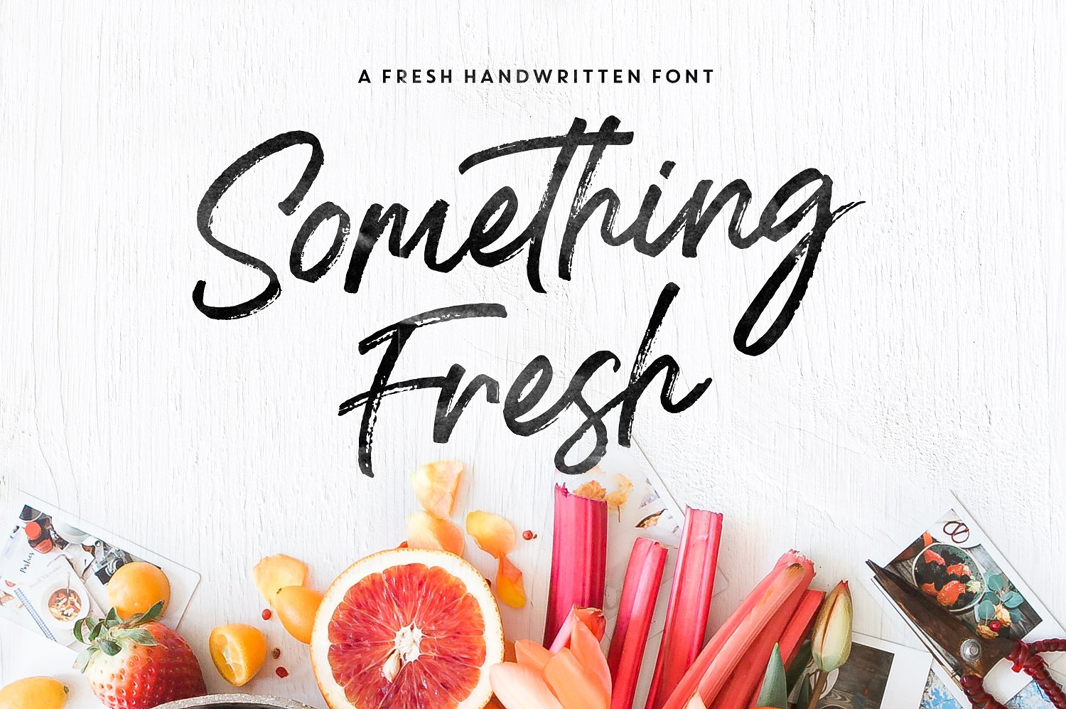 Something Fresh Brush Font - Available on Creative MarketAvailable on Font Spring