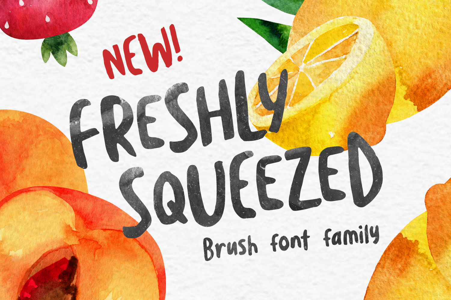 Freshly Squeezed - Available on Creative MarketAvailable on Font Spring
