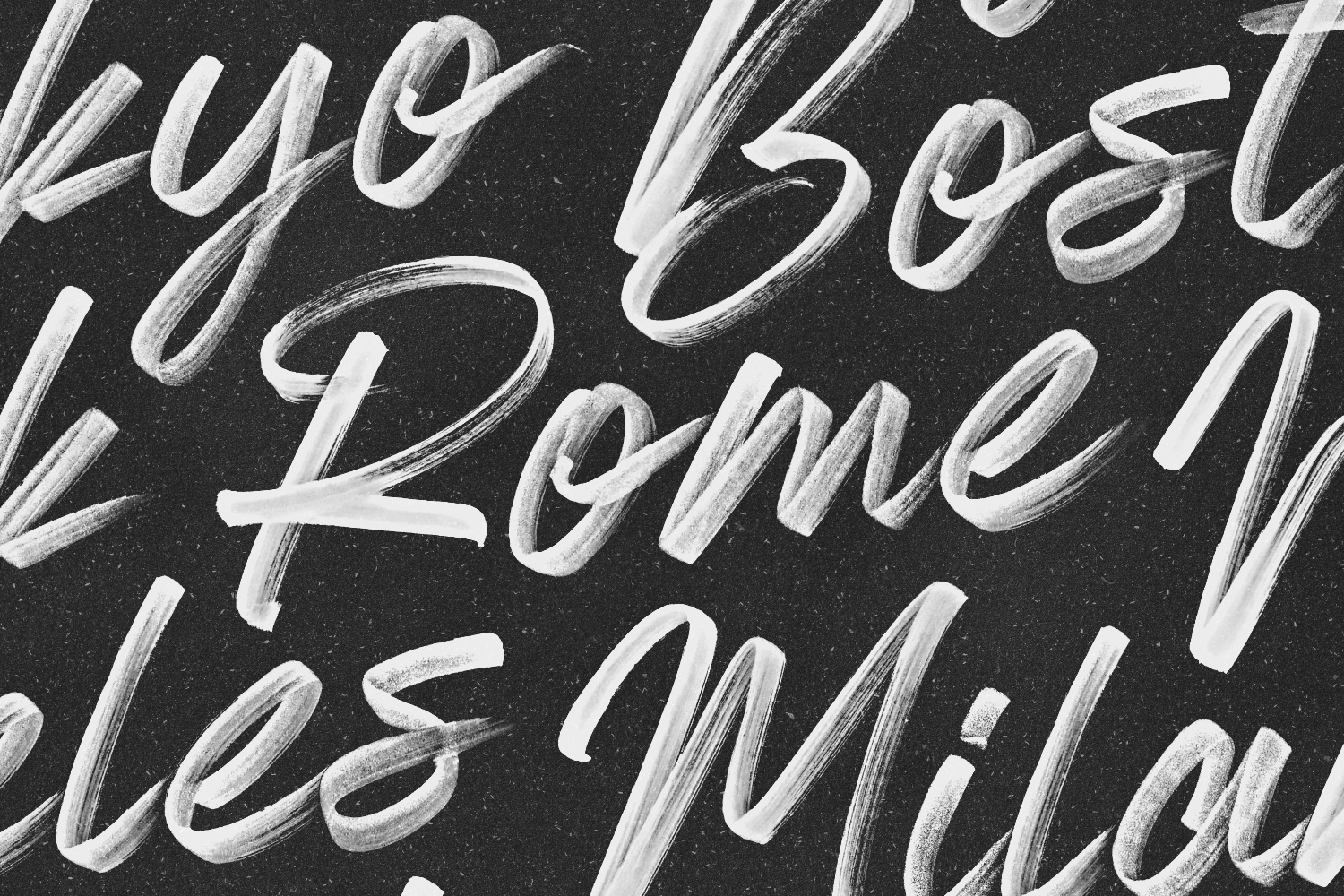 Almonte - Opentype SVG Font - Available on Creative Market