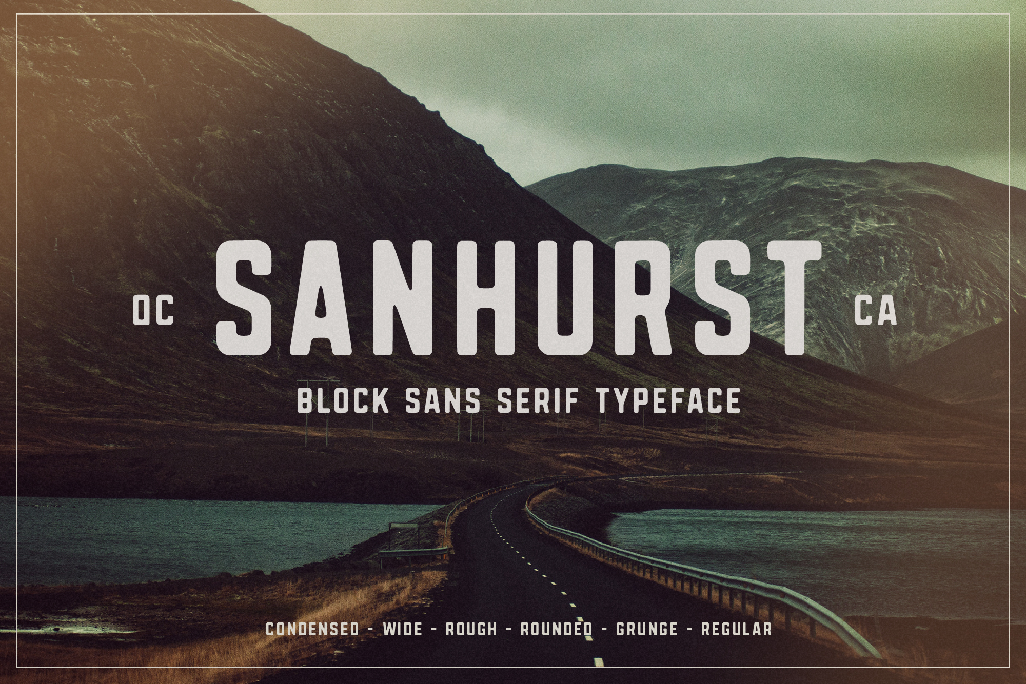 Sanhurst Font Family - Available on Creative MarketAvailable on Font Spring