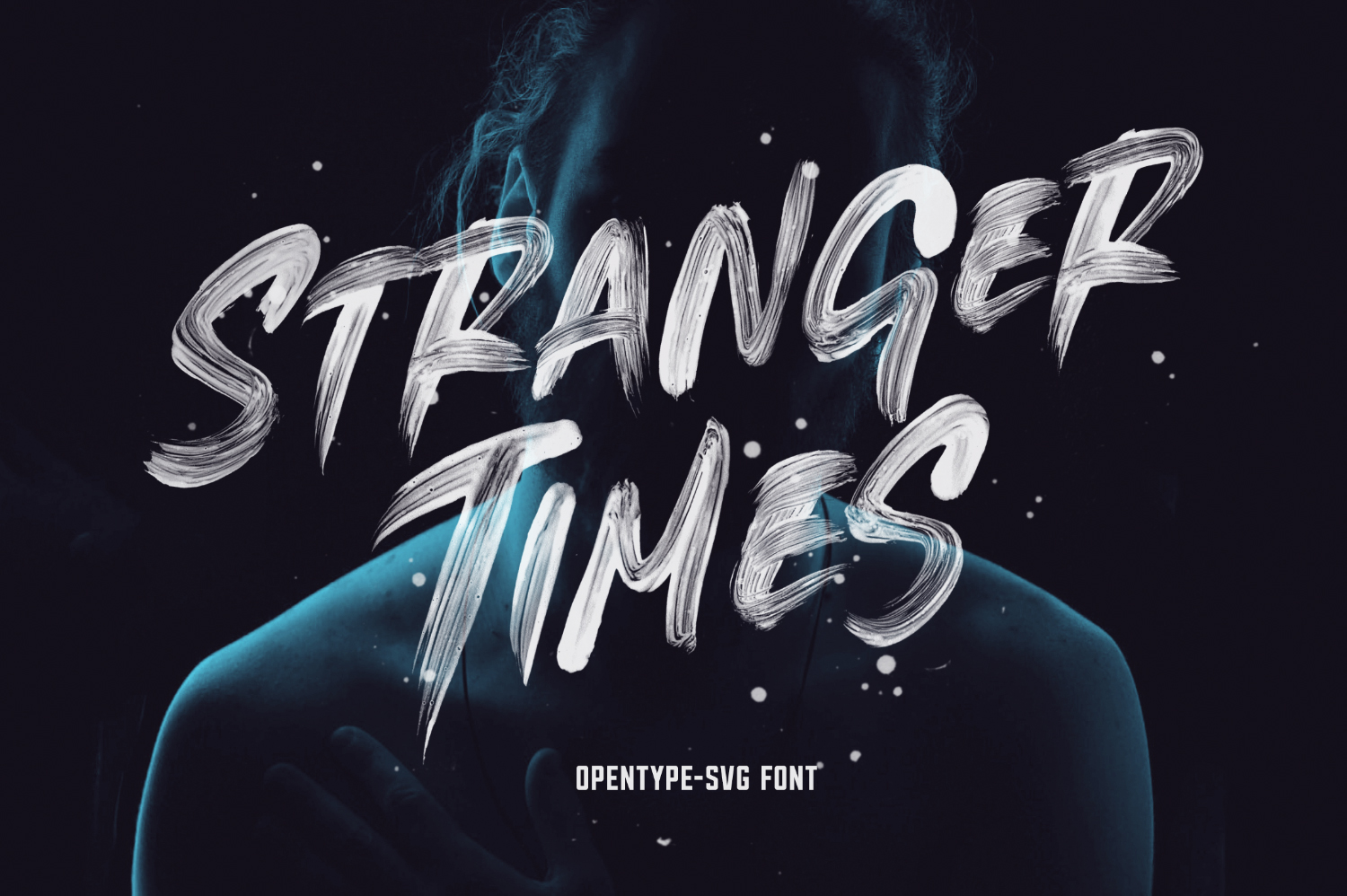 Stranger Times - Opentype SVG - Available on Creative Market