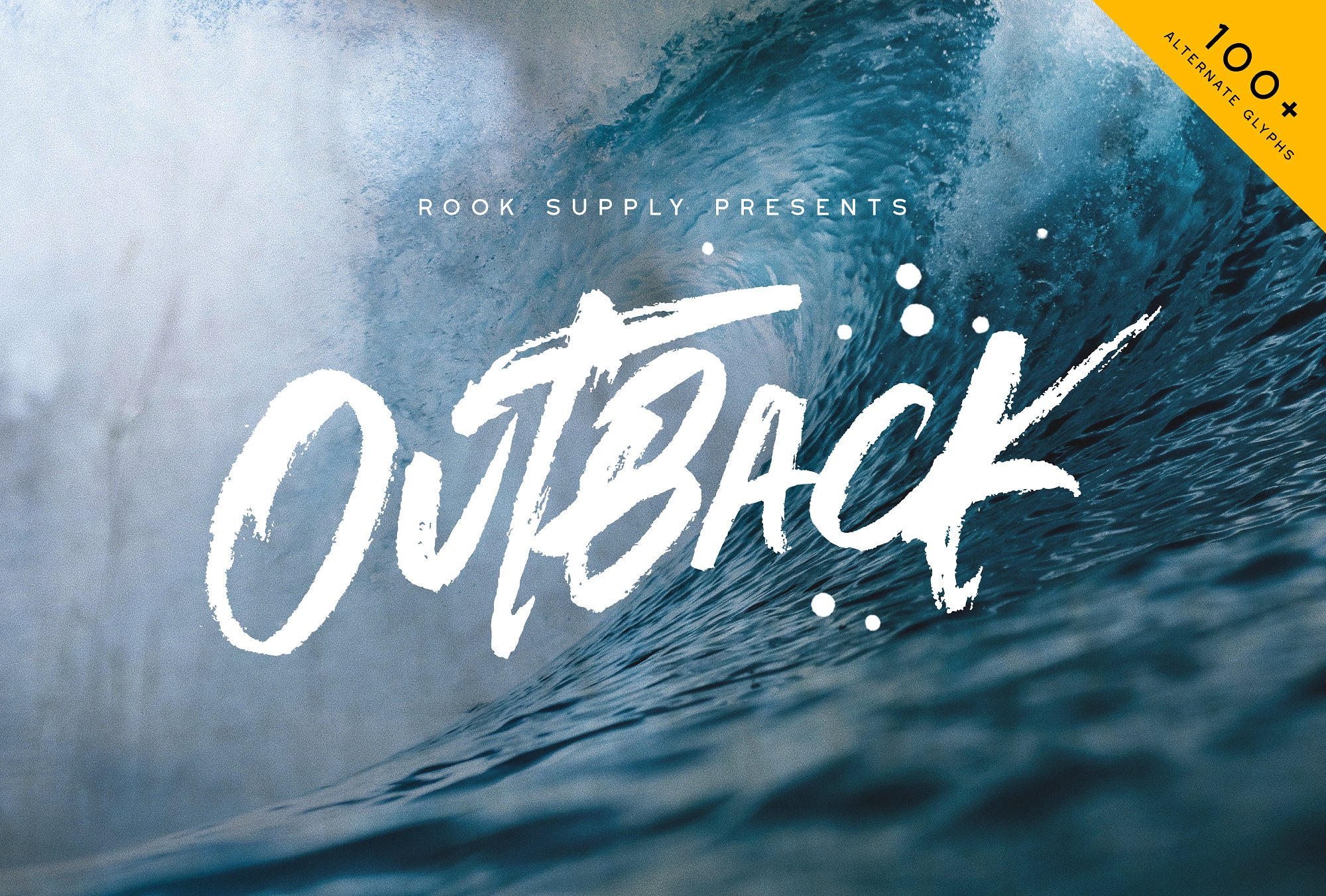 Outback Font - Available on Creative MarketAvailable on Font Spring