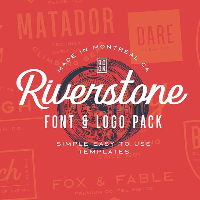 New release this week! 22 fonts and 40 logo templates. On sale this week only  #logotemplate #creativemarket #yolo #fonts #myfonts #photoshop #scriptlettering #creativecloud #adobe #templates #designtemplates #illustrator #sansserif #logos #mtldesign #garphicdesign