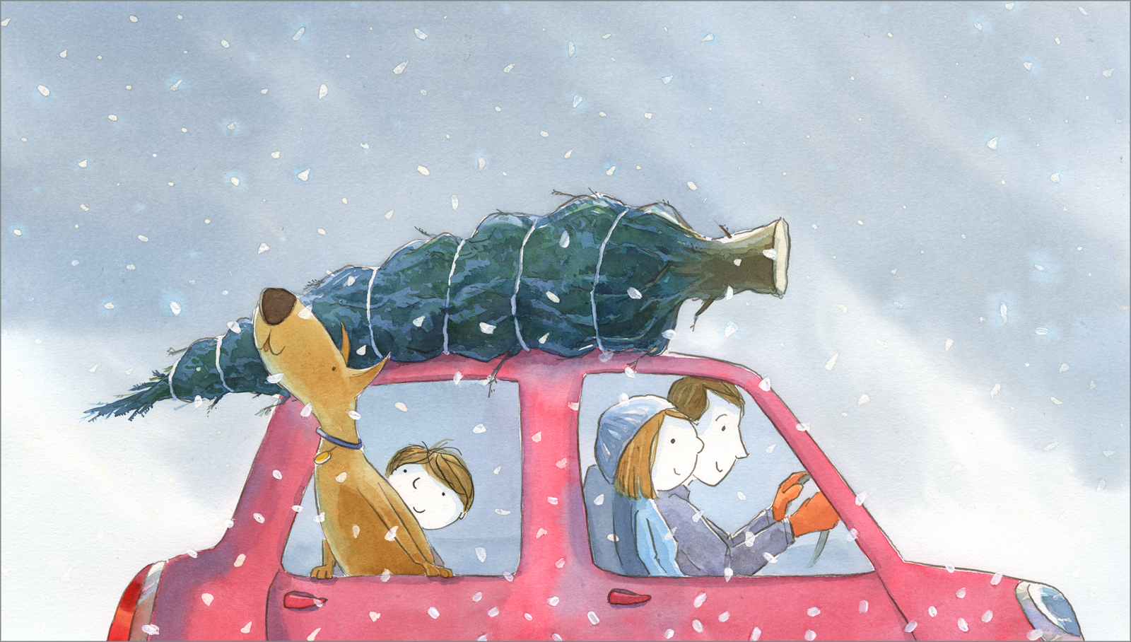Christmas Illustration.The Best Parts Of Christmas Bethanie Murguia Author And