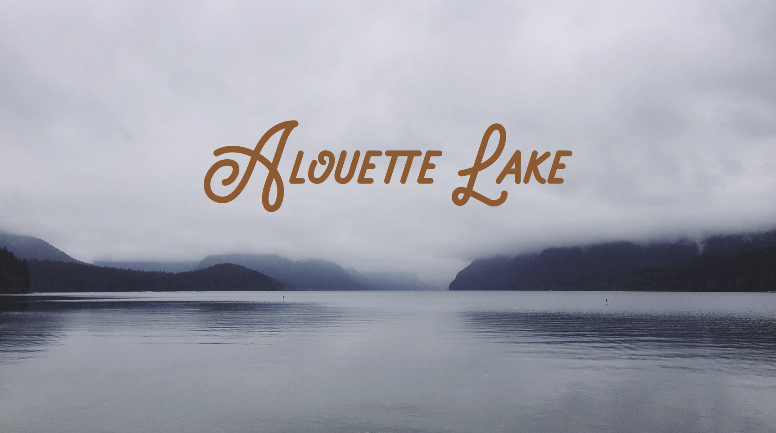 Alouette Lake, BC