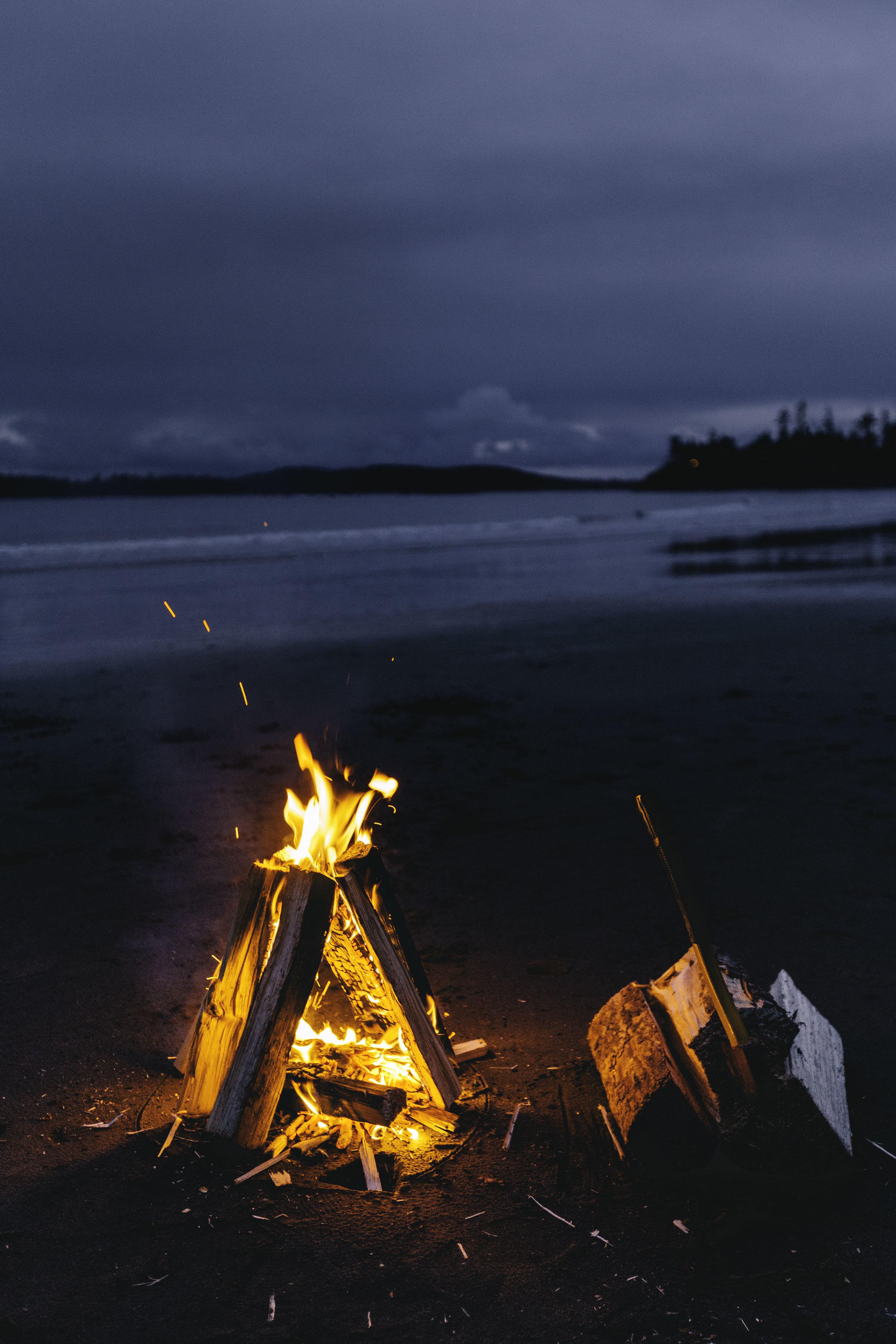 MacKenzie Beach Fire