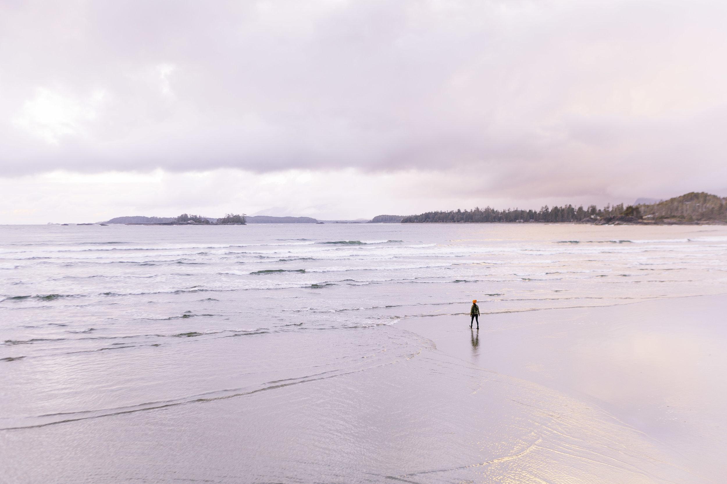 Cox Bay Beach Sunset