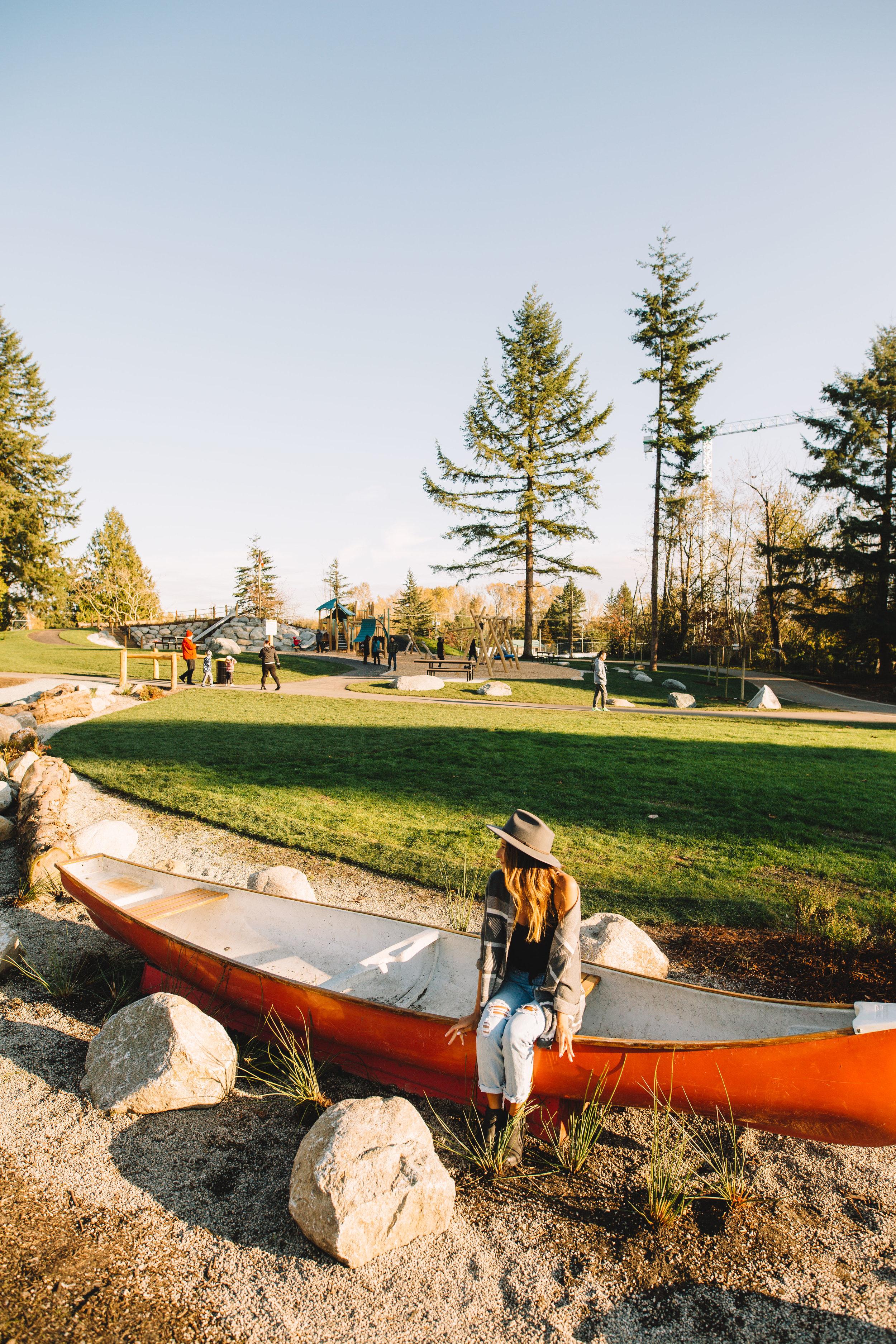 Forsyth Park Canoe