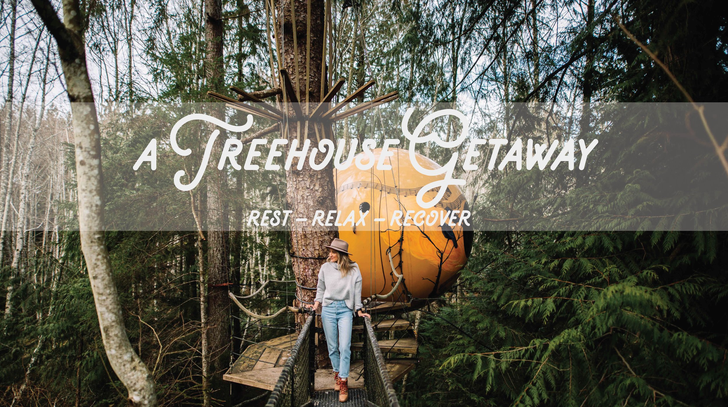 A Treehouse Getaway - Rest, Relax, Recover with Jamieson