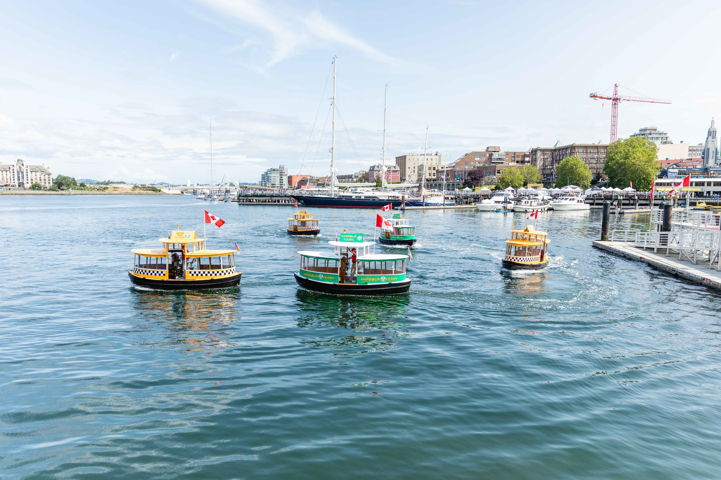 Water Ballet - Victoria Harbour Ferry