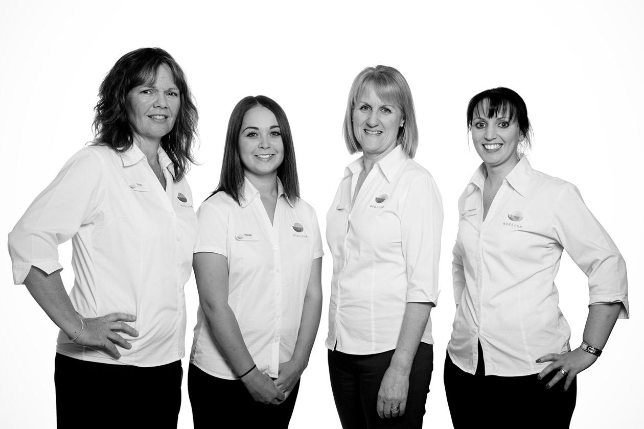 Hoizon Physiotherapy reception staff