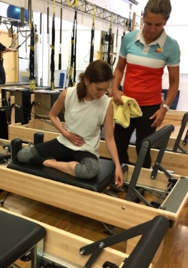 Body Back after Baby Program  Our Body Back after Baby program is a Pilates based rehabilitation program which is developed to ensure optimal recovery and return to activity.  Initial sessions are 1:1 with progression into a class format.