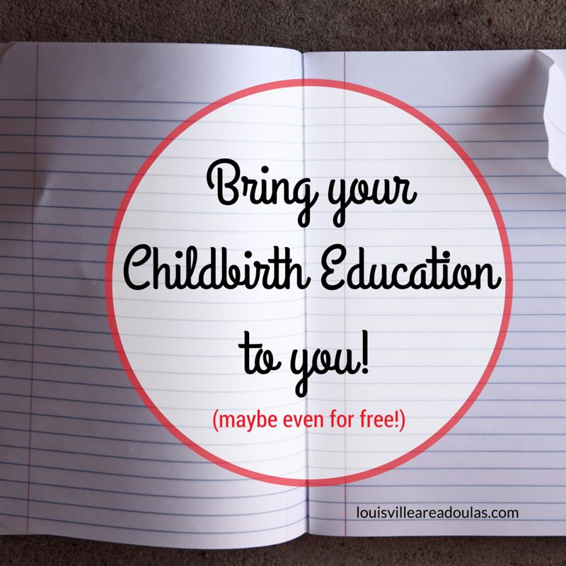 louisville childbirth education