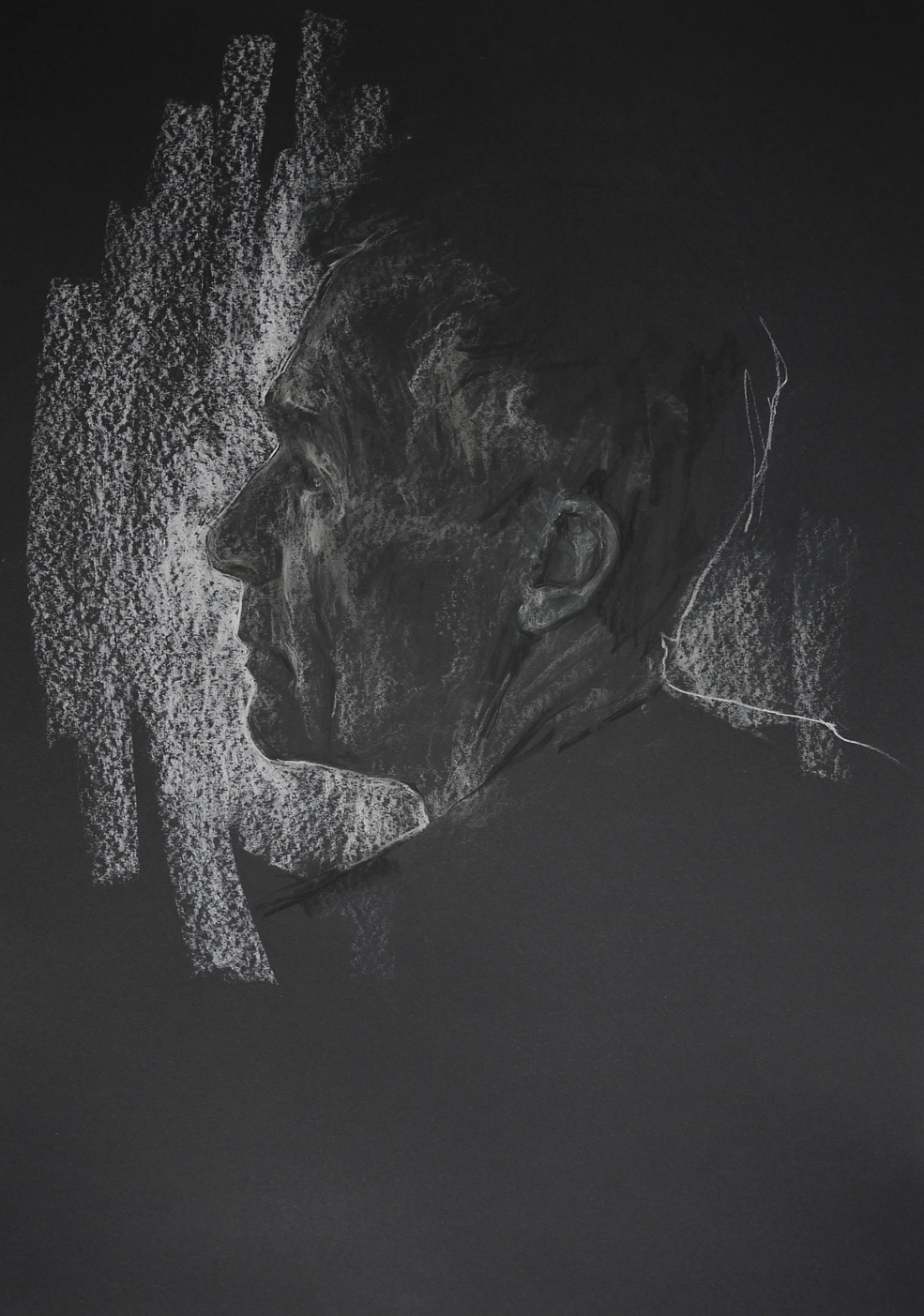 2015  Compressed Charcoal on Paper  42cm x 59cm