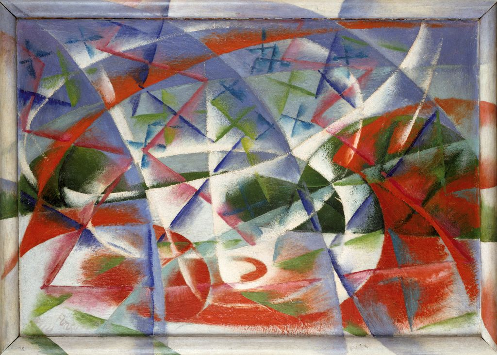 Abstract Speed + Sound (Velocità astratta + rumore), 1913–14