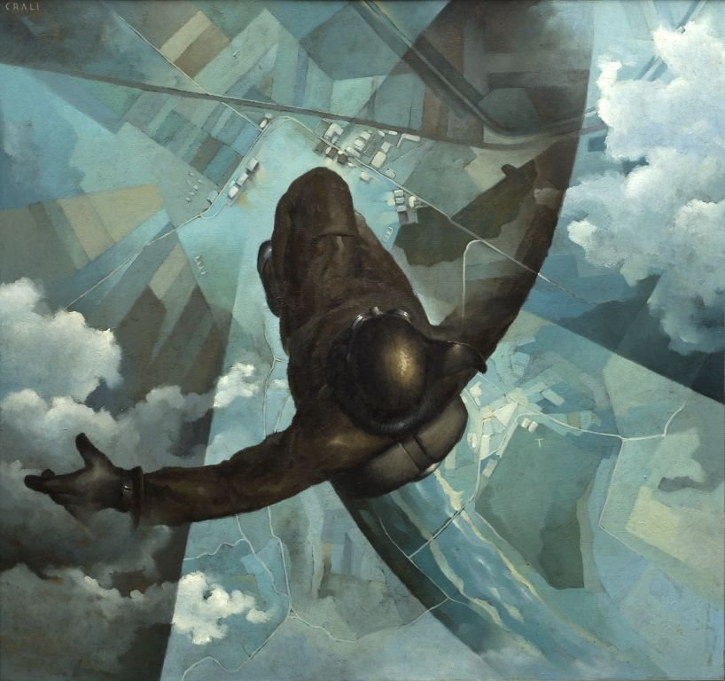 Before the Parachute Opens (Prima che si apra il paracadute), 1939