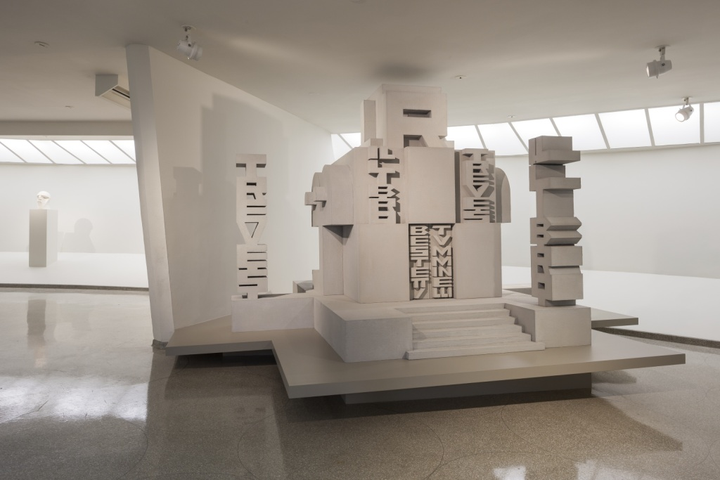 Installation view: Italian Futurism, 1909–1944