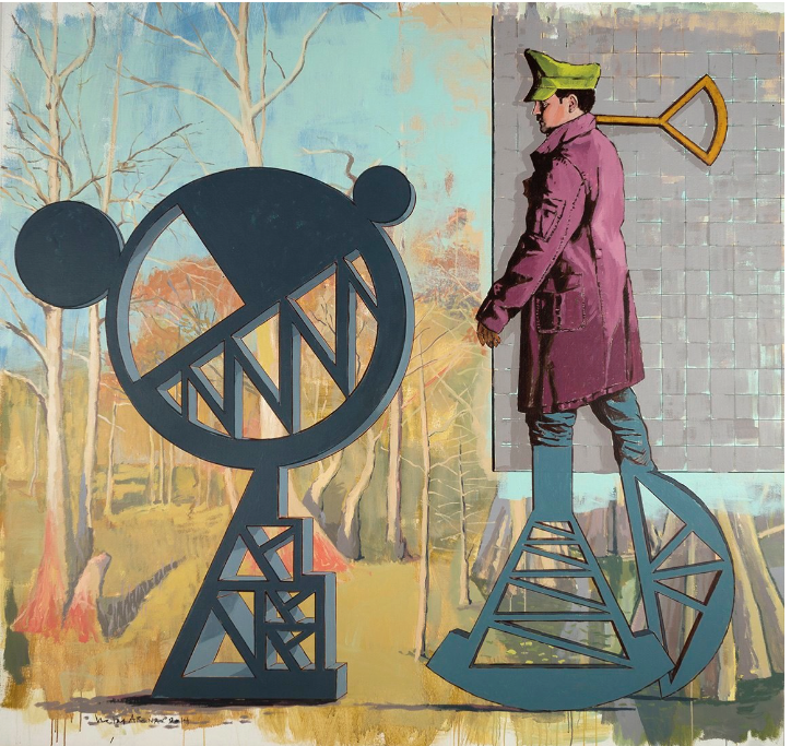 Nestor Arenas. Modern Icons 10, 2015