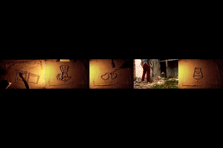 Vídeo Still  Polvo , 2005.