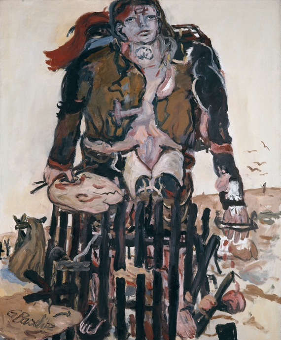 Georg Baselitz. Different Signs, 1965