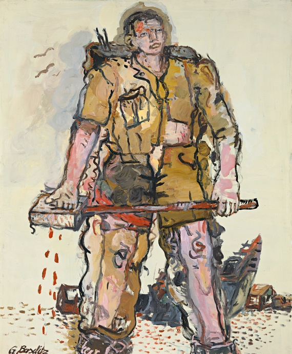 Georg Baselitz. A Blocked One, 1965