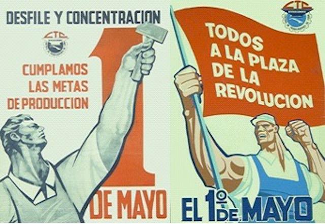 Bono de asistencia Primero de Mayo. Sin fechar. Extraido de la web CubaMaterial