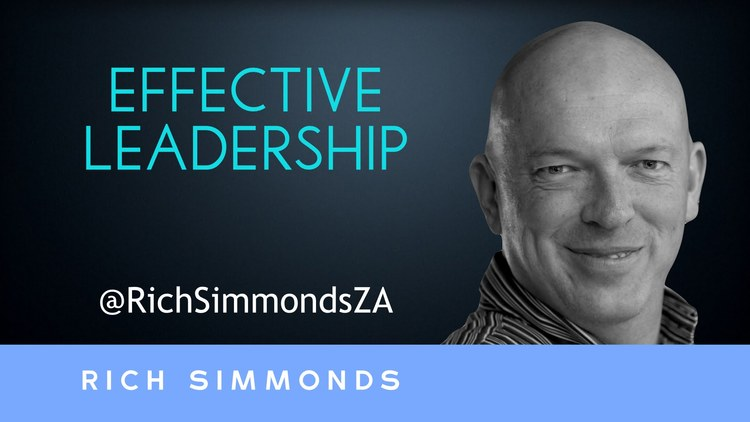 Rich Simmonds is a Cape Town-based public speaker, social innovator and changemaker.