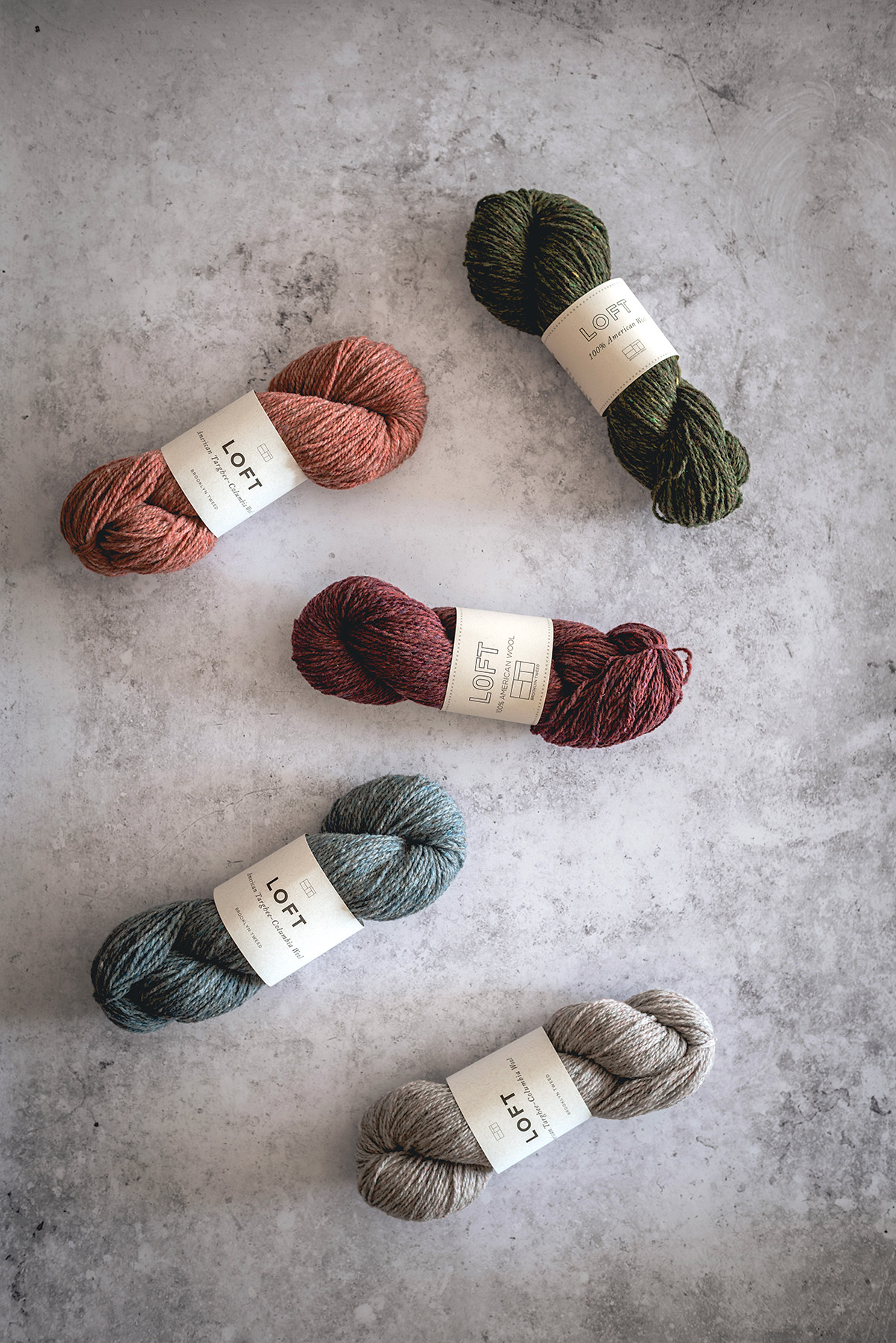 brooklyn tweed yarn loft
