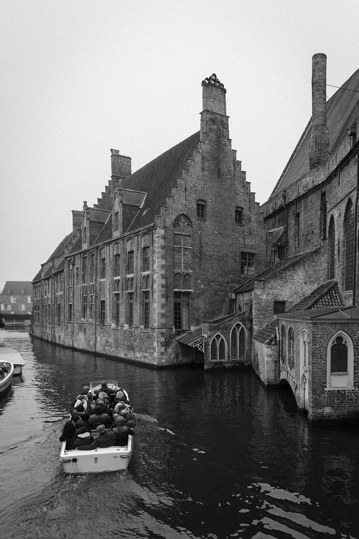 Bruges - black and white photograph - Patricia Martins - Yellowish blog- 2019