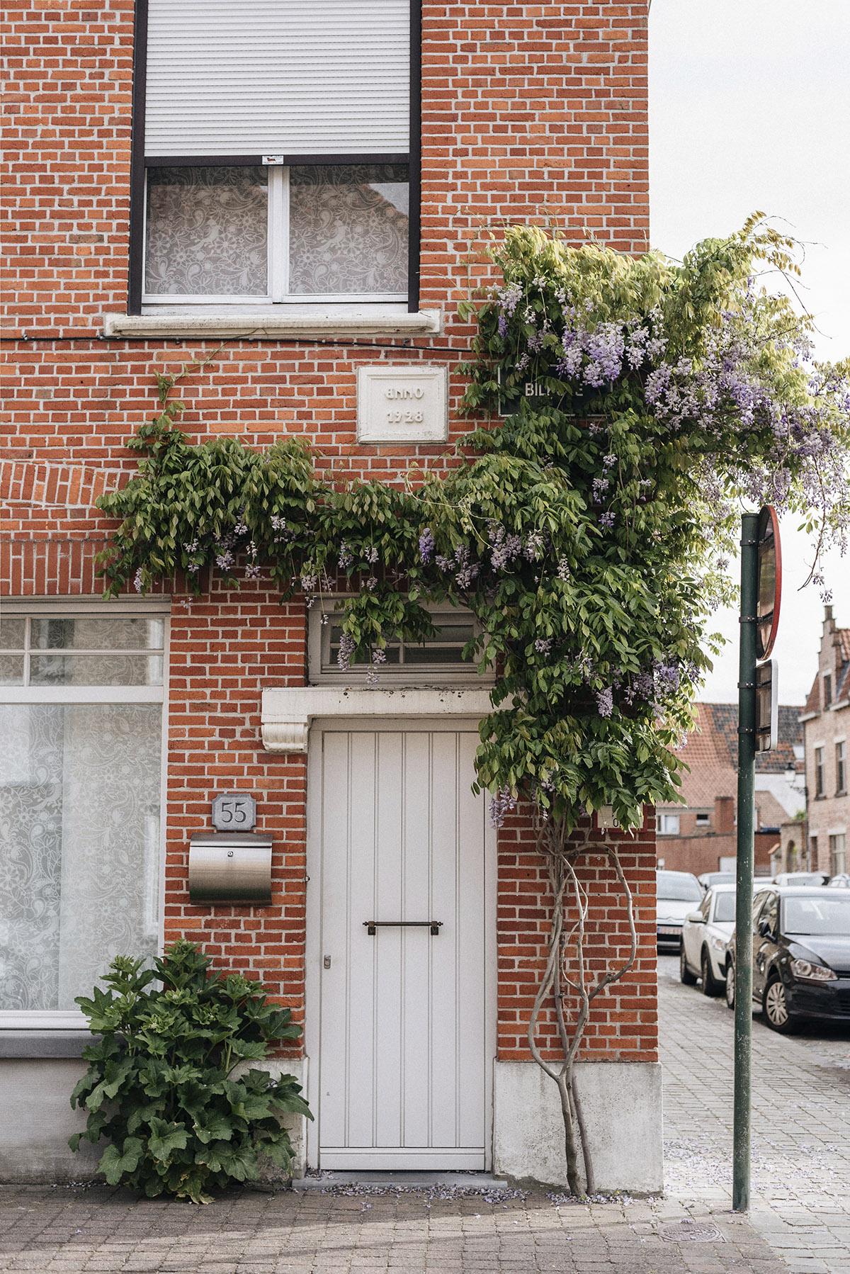 door Bruges spring - Patricia Martins Yellowish blog