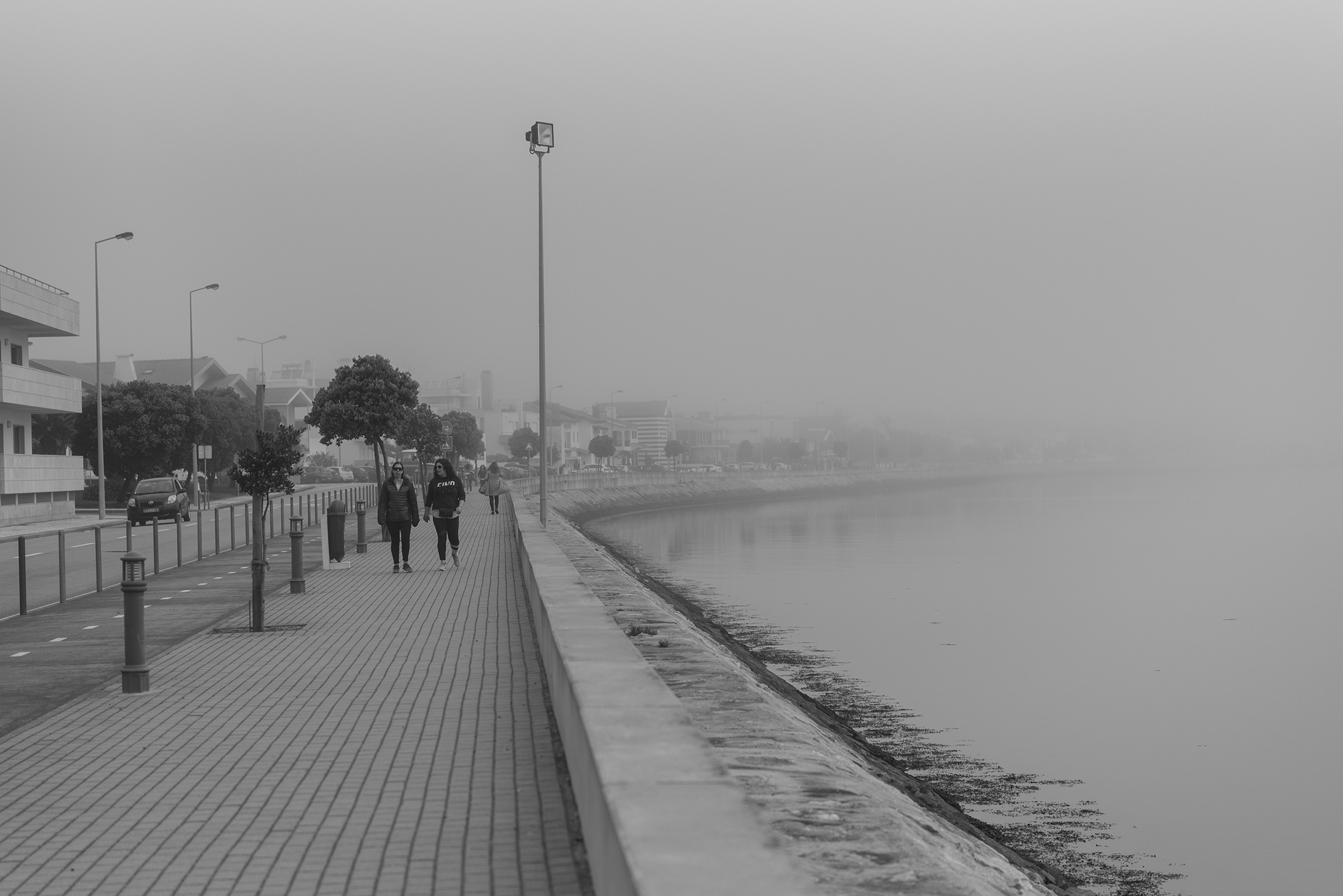 foggy Costa Nova Portugal