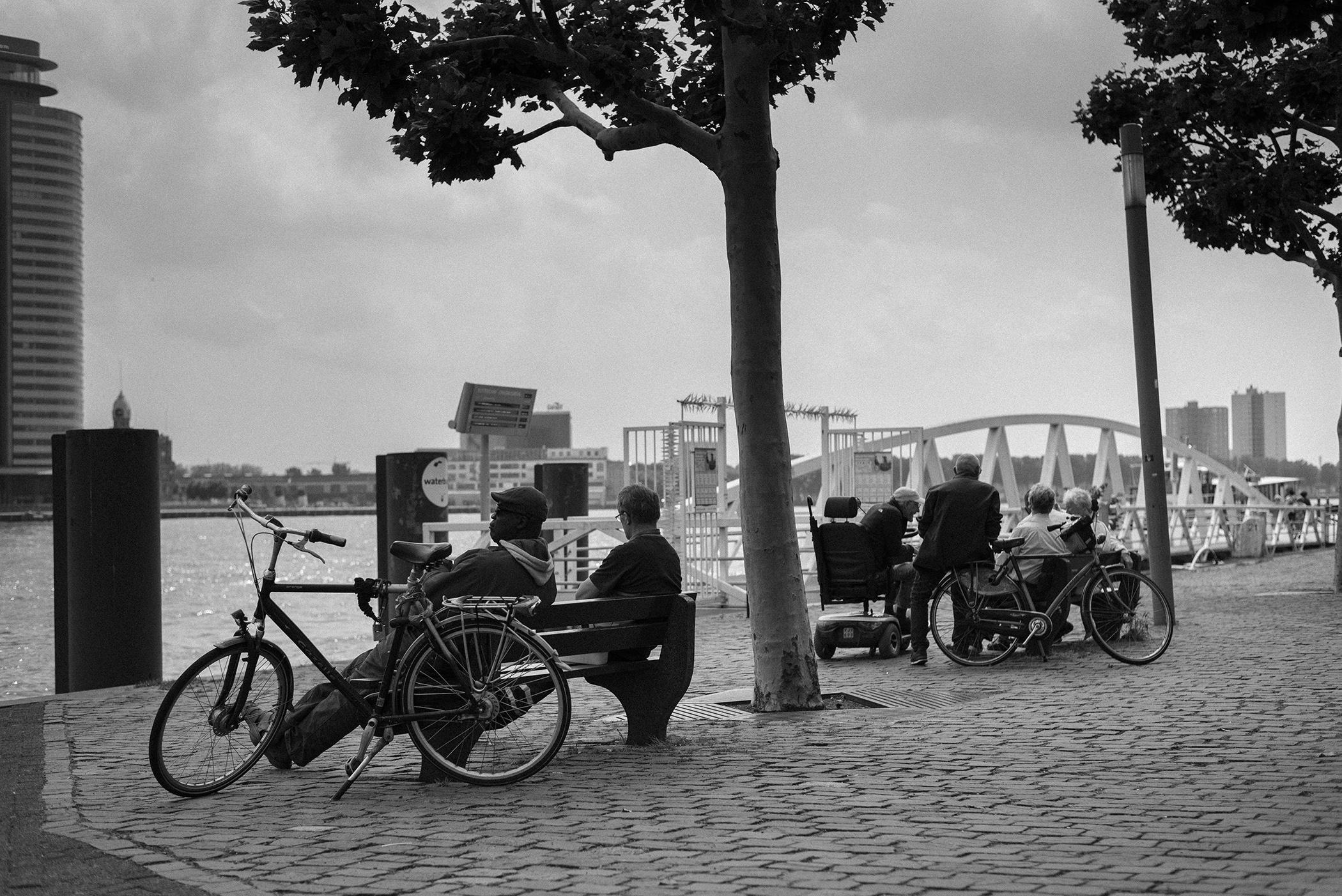 bnw photography street Rotterdam