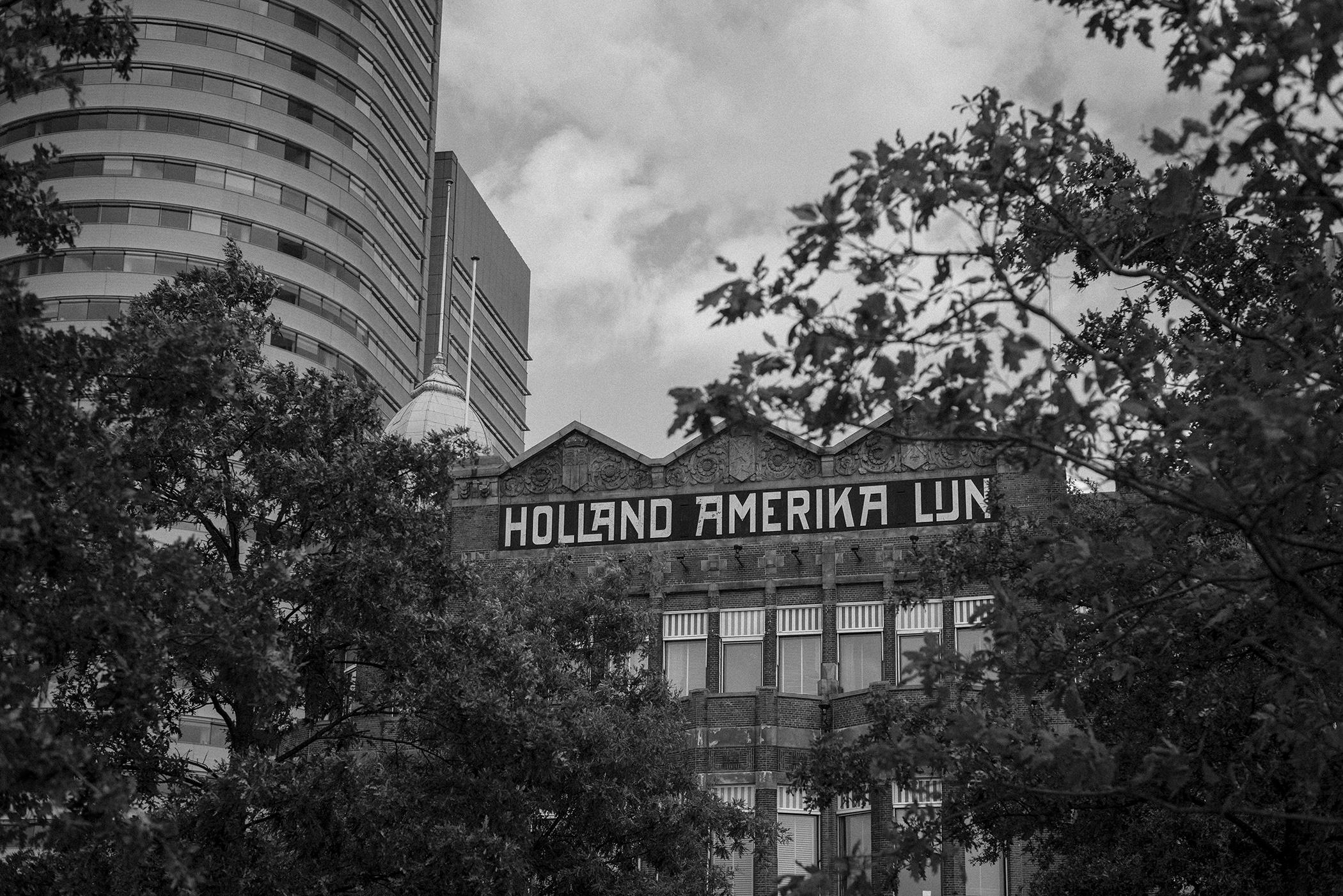 Rotterdam Holland America Lijn bnw street photography