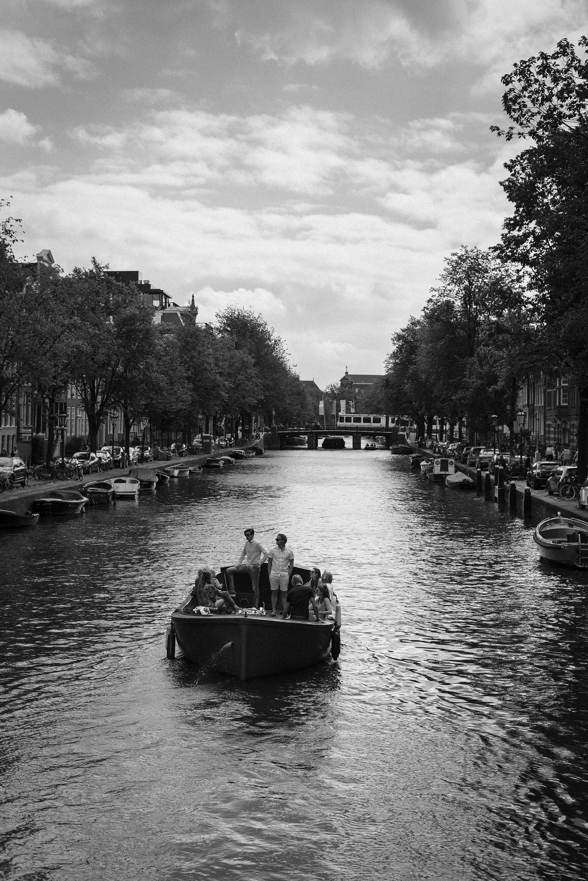 Amsterdam lifestyle river canal