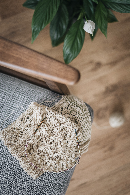 wip linen summer yarn lace knitting