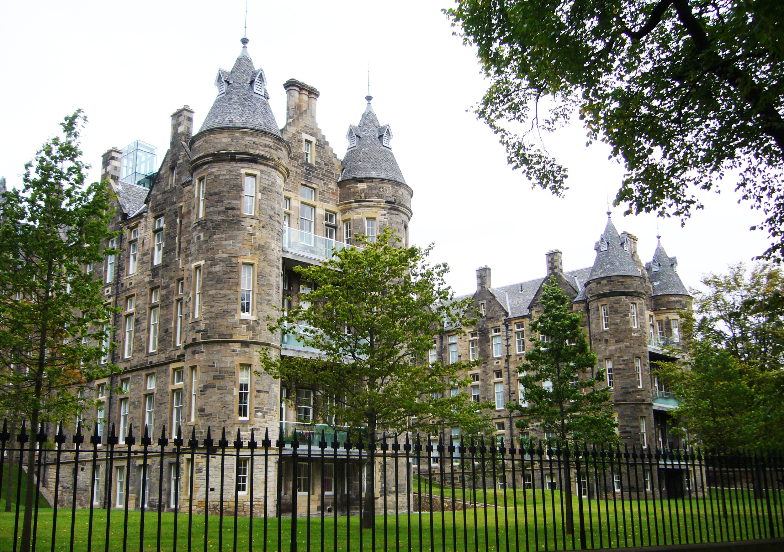 The old Royal Infirmary of Edinburgh, now being turned into residential accommodation