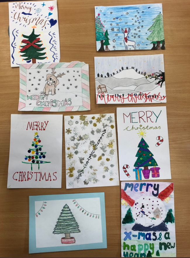 Christmas Card Competition Fulham Cross Girls School