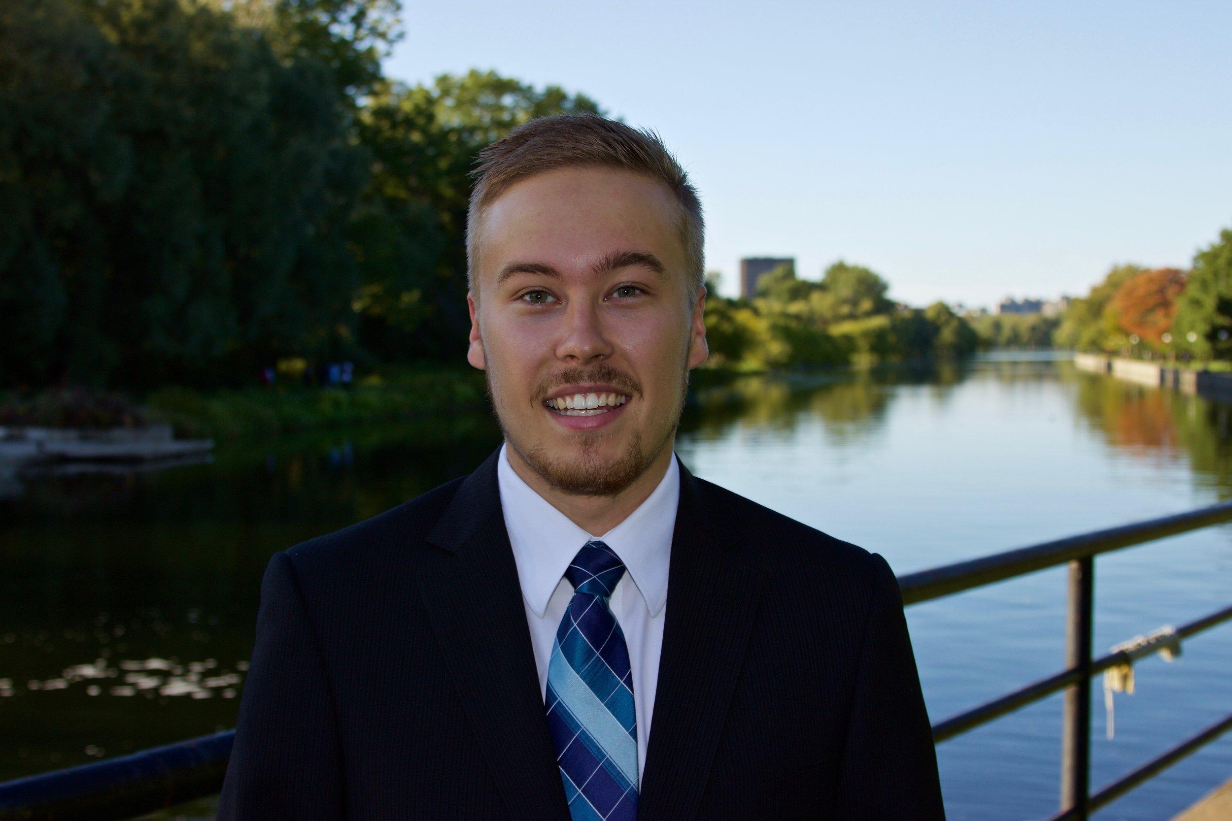 Brad Wilson , VP Delegate Experience 2016/17