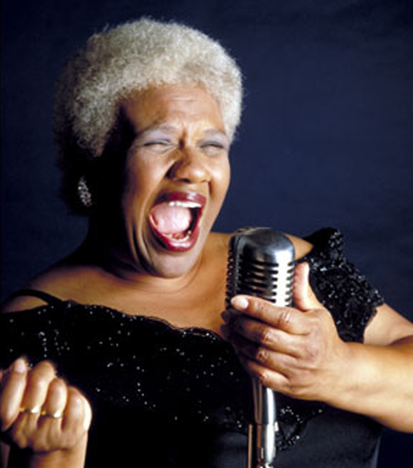Barbara Morrison sang with many of the swing greats back in the day and is still performing today. http://barbaramorrison.com/