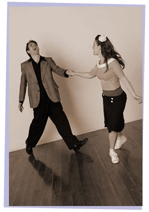 Anthony and Sarah Wheaton swing dance workshop