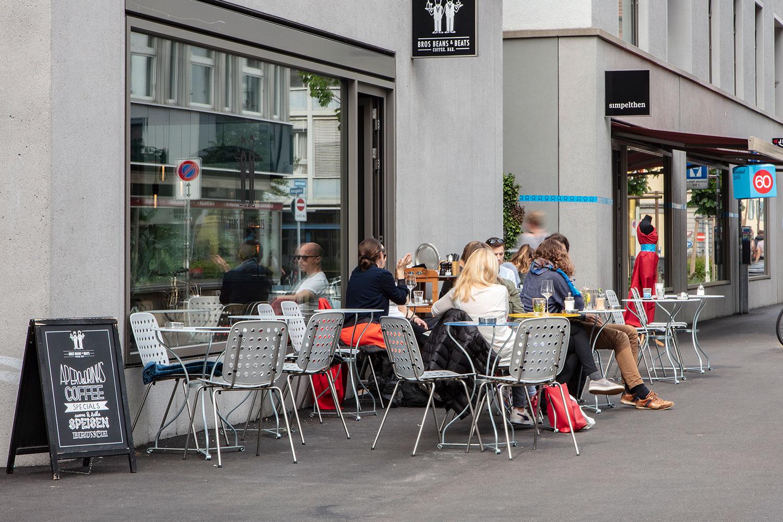 Bros Beans & Beats, Zürich Kreis 4 - Stuhl Coray