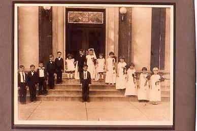 Tom Thumb Wedding, Harrison County, KY 1920s