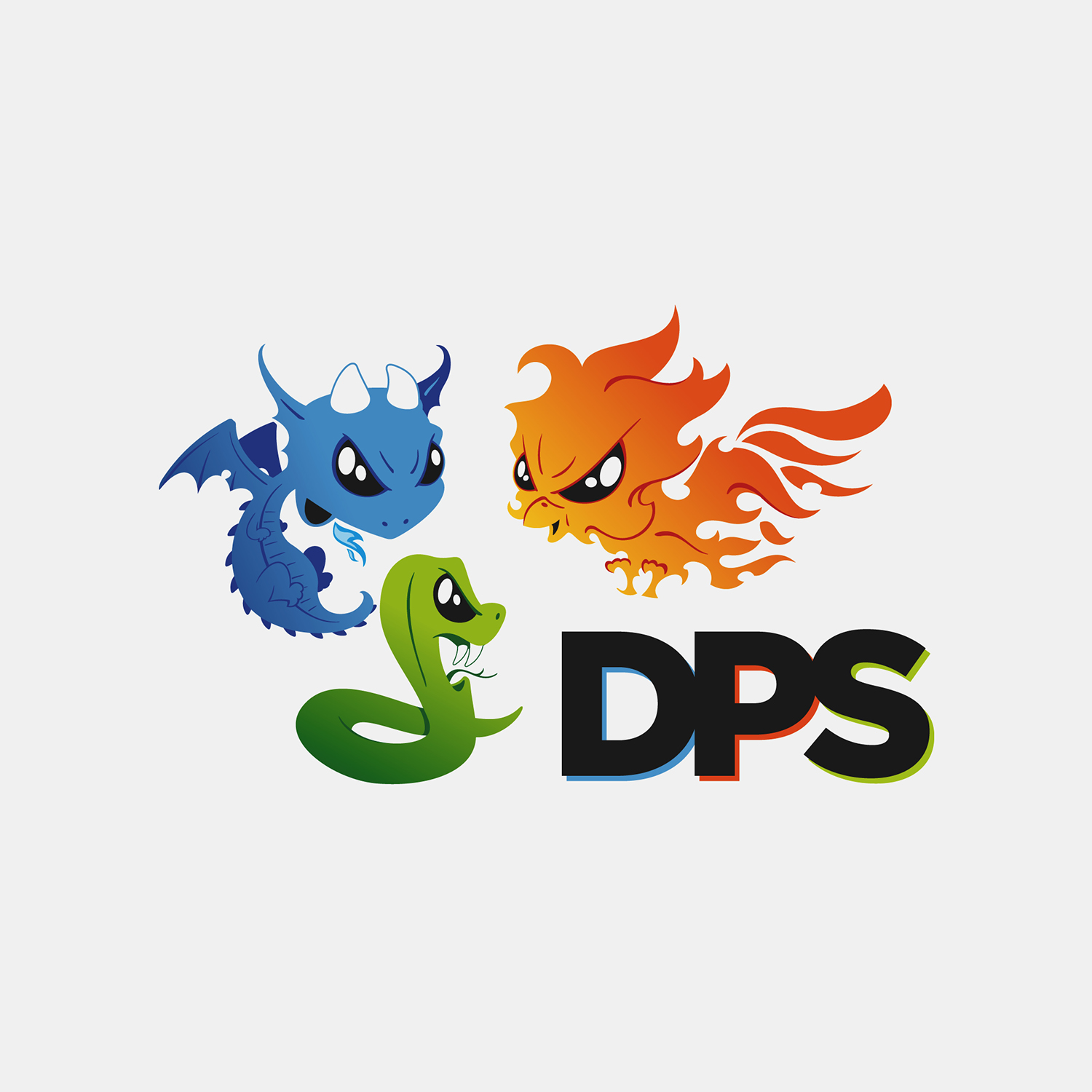 DPS logo design