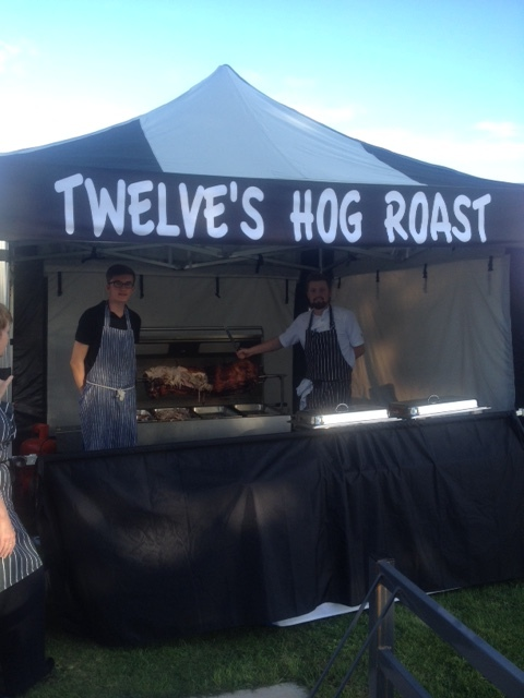 August also brought Hog Roast wedding breakfasts at Singleton Village Hall