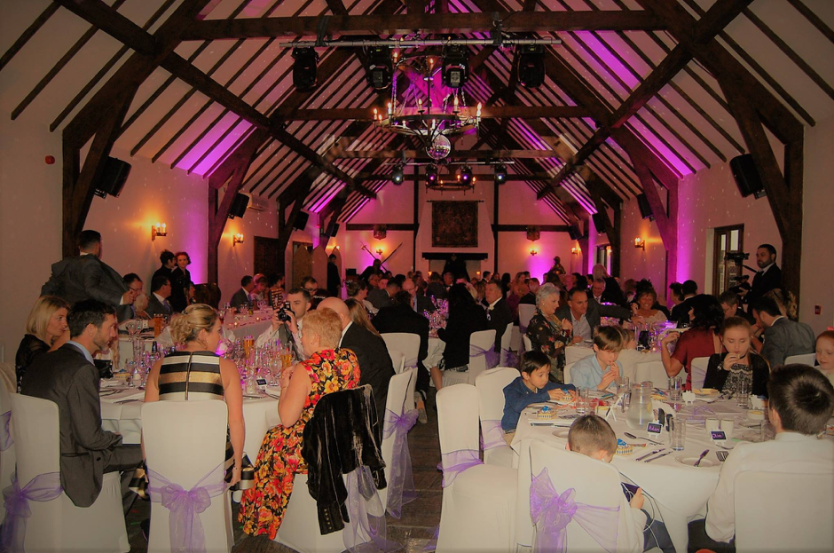Wedding of Mr & Mrs Newson. Photo credit, The Great Hall at Mains