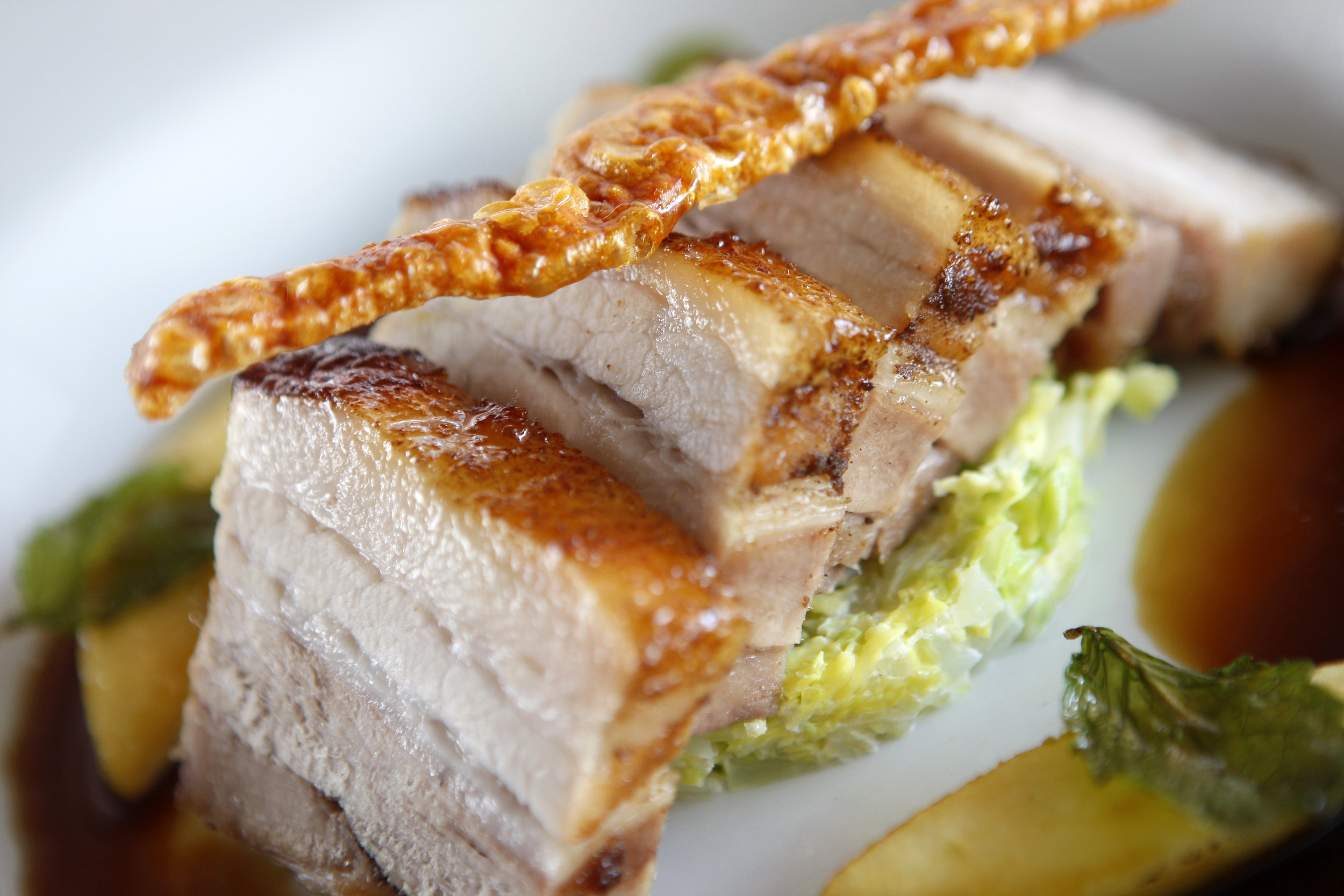 Succulent Pork Belly....Available on the Twelve Celebration Menu!